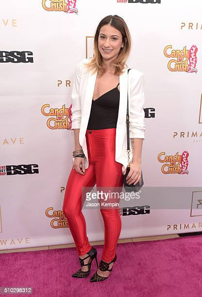 Singer/songwriter Lexy Panterra attends the Primary Wave 10th Annual PreGrammy Party at The London West Hollywood on February 14 2016 in West...