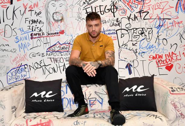 NY: Liam Payne Visits Music Choice