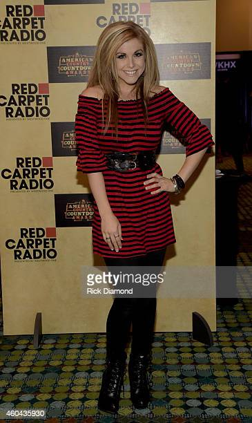 Singer/Songwriter Lindsay Ell attends Red Carpet Radio Presented By Westwood One For The American County Countdown Awards at the Music City Center on...