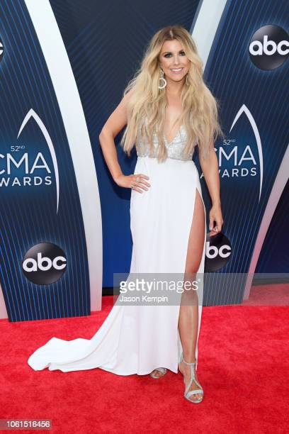 Singersongwriter Lindsay Ell attends the 52nd annual CMA Awards at the Bridgestone Arena on November 14 2018 in Nashville Tennessee