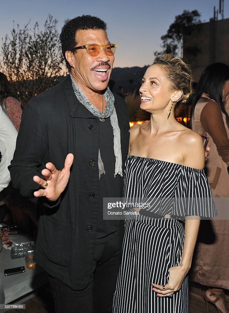 Singer-songwriter Lionel Richie and fashion designer Nicole Richie attend House of Harlow 1960 x REVOLVE on June 2, 2016 in Los Angeles, California.