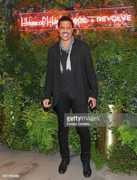 Singersongwriter Lionel Richie attends House of Harlow 1960 x REVOLVE on June 2 2016 in Los Angeles California