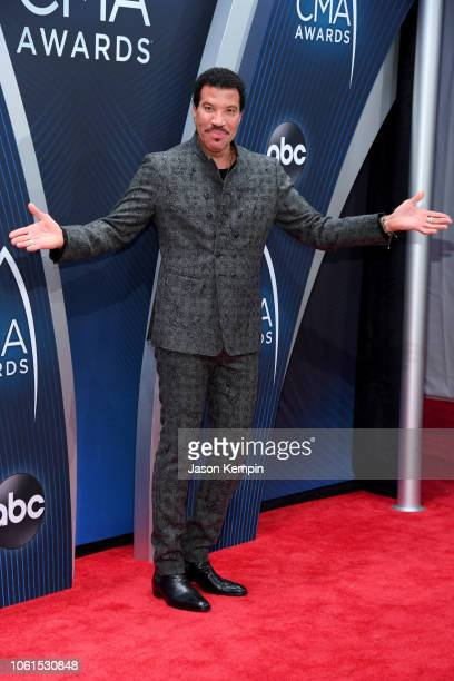 Singersongwriter Lionel Richie attends the 52nd annual CMA Awards at the Bridgestone Arena on November 14 2018 in Nashville Tennessee