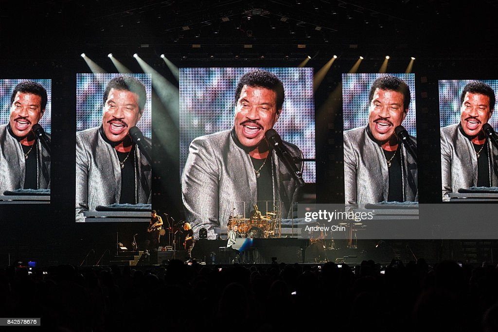Singer-songwriter Lionel Richie performs on stage at Rogers Arena on September 3, 2017 in Vancouver, Canada.