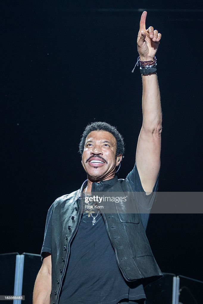 Singer-songwriter Lionel Richie performs on stage during weekend one, day three of the Austin City Limits Music Festival at Zilker Park on October 6, 2013 in Austin, Texas.