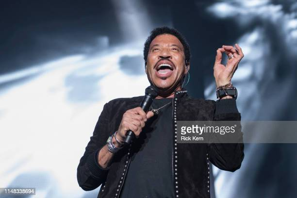 Singer-songwriter Lionel Richie performs onstage during day one of KAABOO Texas at AT&T Stadium on May 10, 2019 in Arlington, Texas.