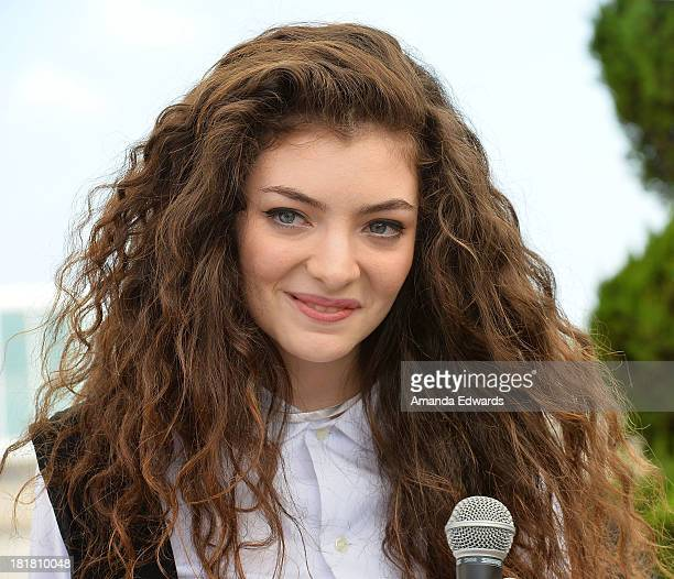 Singer/songwriter Lorde performs on the ALT 98.7 Penthouse stage at The Historic Hollywood Tower on September 25, 2013 in Hollywood, California.