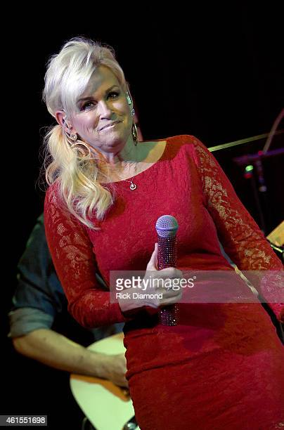 Singer/Songwriter Lorrie Morgan performs at City Winery on January 14 2015 in Nashville Tennessee