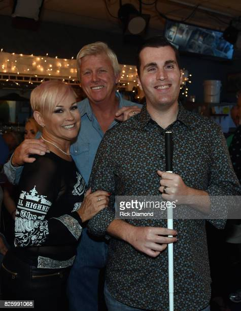 Singer/Songwriter Lorrie Morgan Randy White and Singer/Songwriter JP Williams during An Intimate Night With The Morgans Lorrie Morgan Marty Morgan...