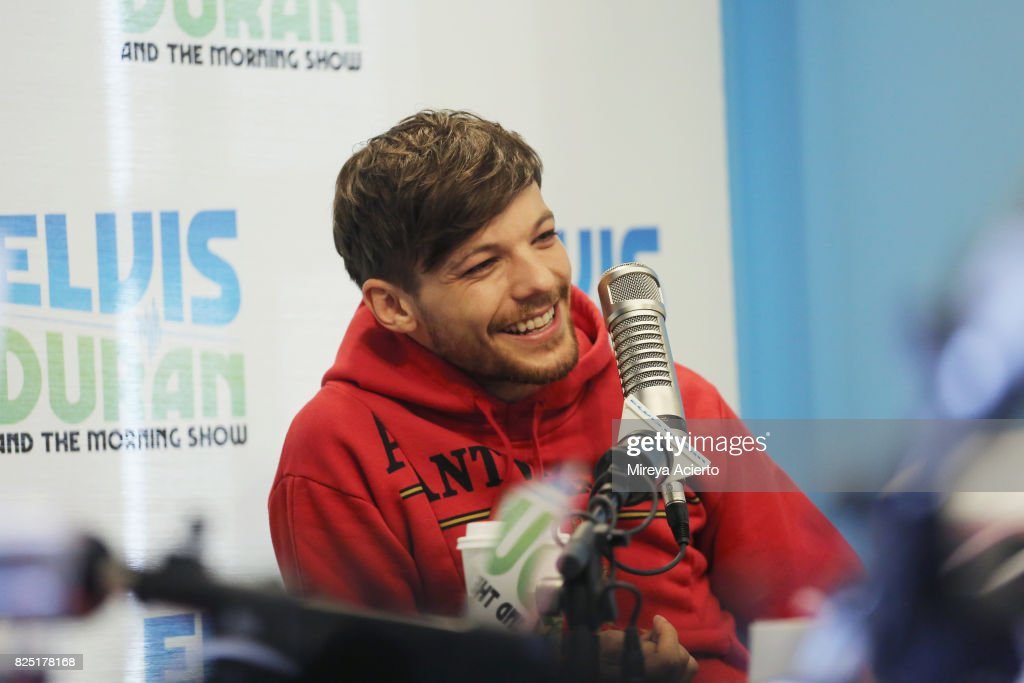 "Louis Tomlinson Visits ""The Elvis Duran Z100 Morning Show"" : News Photo"