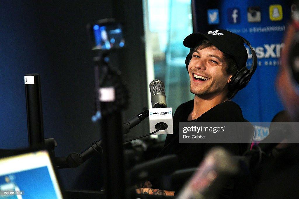 Celebrities Visit SiriusXM - January 25, 2017 : News Photo