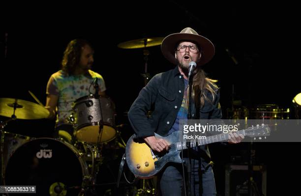 Singersongwriter Lukas Nelson of Lukas Nelson Promise of the Real performs in concert at ACL Live on December 30 2018 in Austin Texas