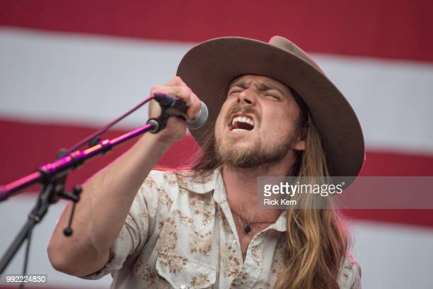 Singer-songwriter Lukas Nelson of Lukas Nelson & Promise of the Real performs onstage during the 45th Annual Willie Nelson 4th of July Picnic at...