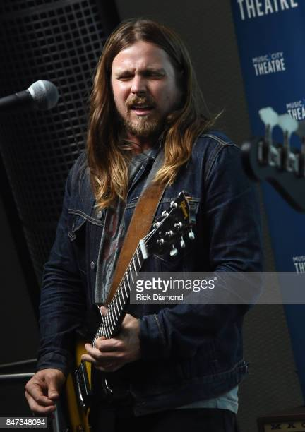 Singer/Songwriter Lukas Nelson performs during Americanafest OffCampus And SiriusXM Present Lukas Nelson Promise Of The Real at SiriusXM Studios on...