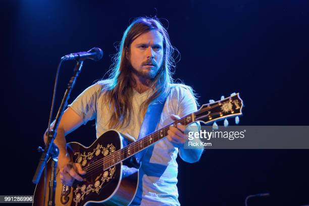 Singersongwriter Lukas Nelson performs in concert at 3TEN ACL Live on July 3 2018 in Austin Texas