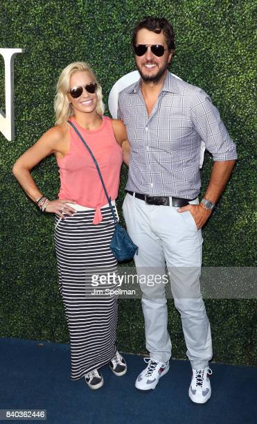 Singer/songwriter Luke Bryan and wife Caroline Boyer attend the 17th Annual USTA Foundation Opening Night Gala at USTA Billie Jean King National...