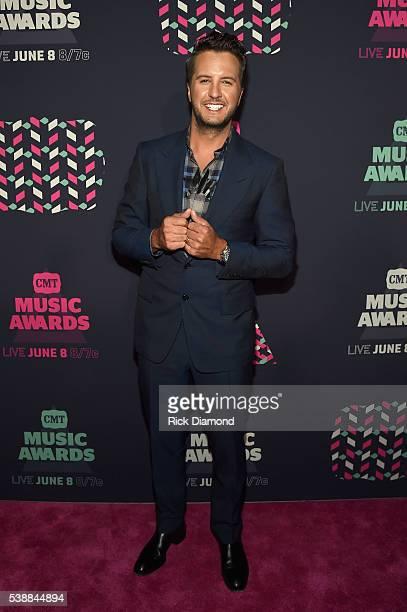 Singersongwriter Luke Bryan attends the 2016 CMT Music awards at the Bridgestone Arena on June 8 2016 in Nashville Tennessee
