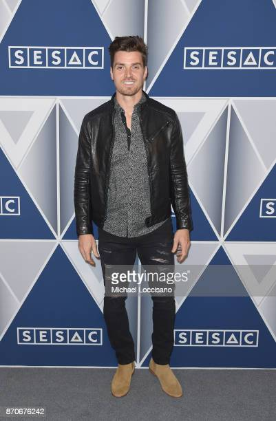 Singersongwriter Luke Pell arrives at the 2017 SESAC Nashville Music Awards on November 5 2017 in Nashville Tennessee