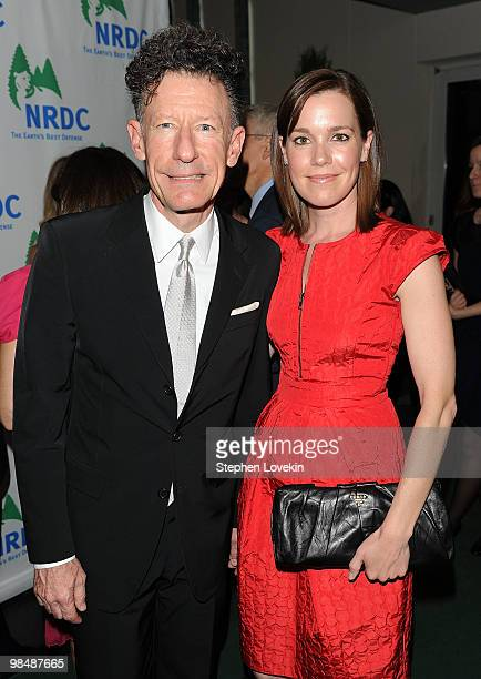 Singer/songwriter Lyle Lovett and girlfriend April Kimble attend the Natural Resources Defense Council's 12th annual Forces for Nature gala benefit...