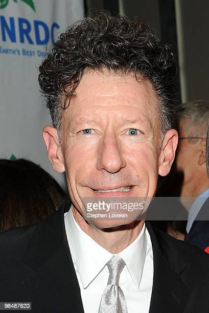 Singer/songwriter Lyle Lovett attends the Natural Resources Defense Council's 12th annual Forces for Nature gala benefit at Pier Sixty at Chelsea...