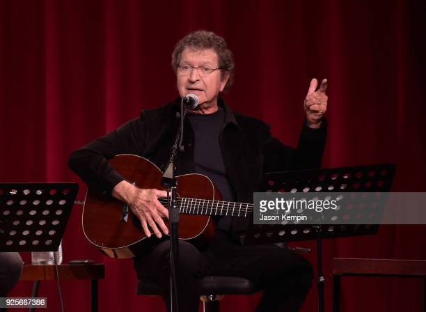 Singersongwriter Mac Davis performs at City Winery Nashville on February 28 2018 in Nashville Tennessee