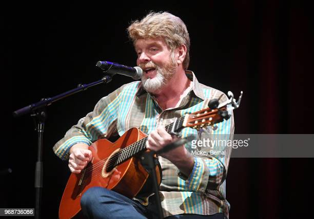 Singer/songwriter Mac McAnally performs during CMA Songwriters Series Featuring Mary Chapin Carpenter Vince Gill Mac McAnally and Don Schlitz at CMA...
