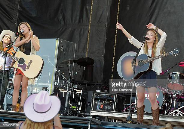 Singer/Songwriter Maddie Tae perform at Country Thunder USA Day 2 April 10 2015 in Florence Arizona