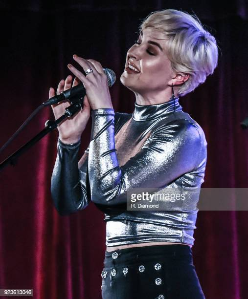 Singer/Songwriter Maggie Rose performs at City Winery on February 23 2018 in Atlanta Georgia