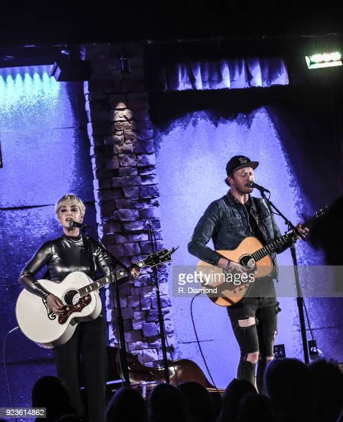 Singer/Songwriter Maggie Rose with Tim Maxwell perform at City Winery on February 23 2018 in Atlanta Georgia