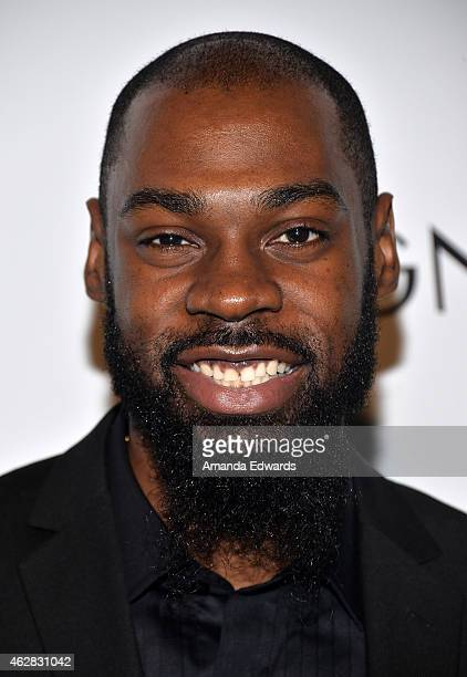 Singersongwriter Mali Music attends the Z Zegna GQ celebration of the new Z Zegna hosted by Nick Jonas at Philymack Inc on February 5 2015 in West...