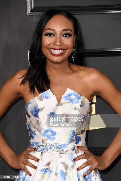 Singersongwriter Malina Moye attends The 59th GRAMMY Awards at STAPLES Center on February 12 2017 in Los Angeles California