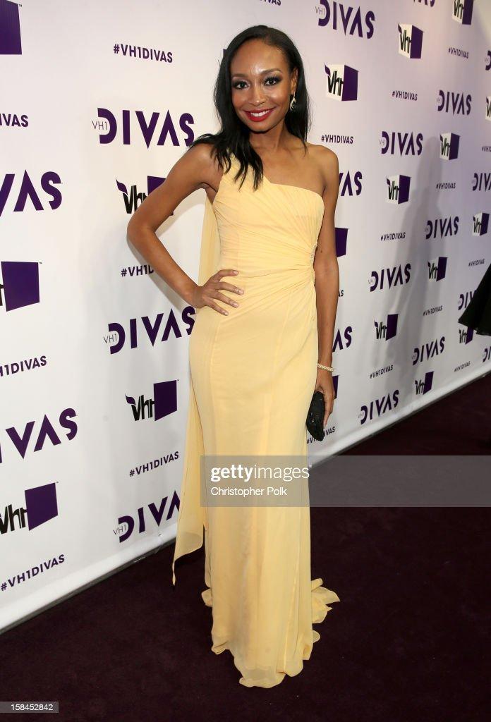 Singer/songwriter Malina Moye attends 'VH1 Divas' 2012 at The Shrine Auditorium on December 16, 2012 in Los Angeles, California.