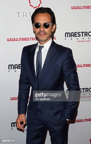Singer/songwriter Marc Anthony attend the Maestro Cares Foundation's Fourth Annual Changing Lives/Building Dreams Gala at Cipriani Wall Street on...