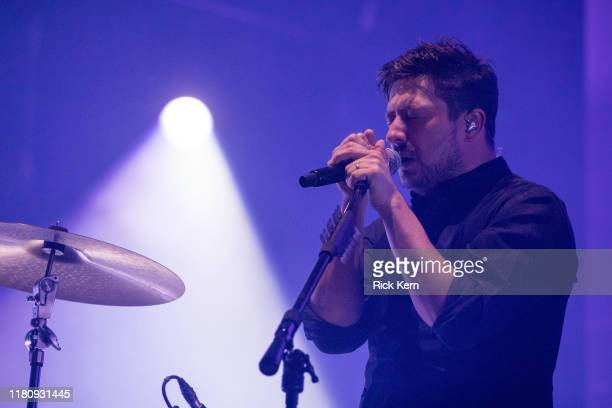 Singer-songwriter Marcus Mumford of Mumford & Sons performs onstage during weekend two, day three of Austin City Limits Music Festival at Zilker Park...