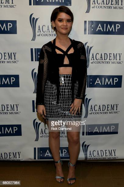 Singersongwriter Maren Morris attends the 2017 AIMP Nashville Awards on May 8 2017 in Nashville Tennessee