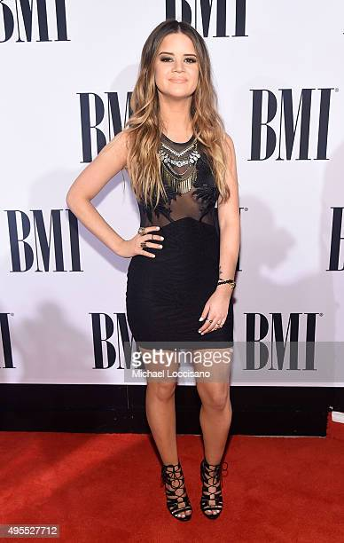 Singersongwriter Maren Morris attends the 63rd Annual BMI Country awards on November 3 2015 in Nashville Tennessee