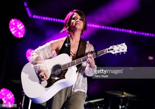 Singersongwriter Maren Morris performs during day 3 of the 2017 CMA Music Festival on June 10 2017 in Nashville Tennessee