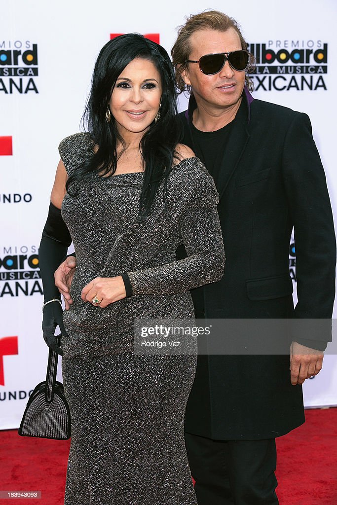 Singer/songwriter Maria Conchita Alonso (L) attends the 2013 Billboard Mexican Music Awards arrivals at Dolby Theatre on October 9, 2013 in Hollywood, California.