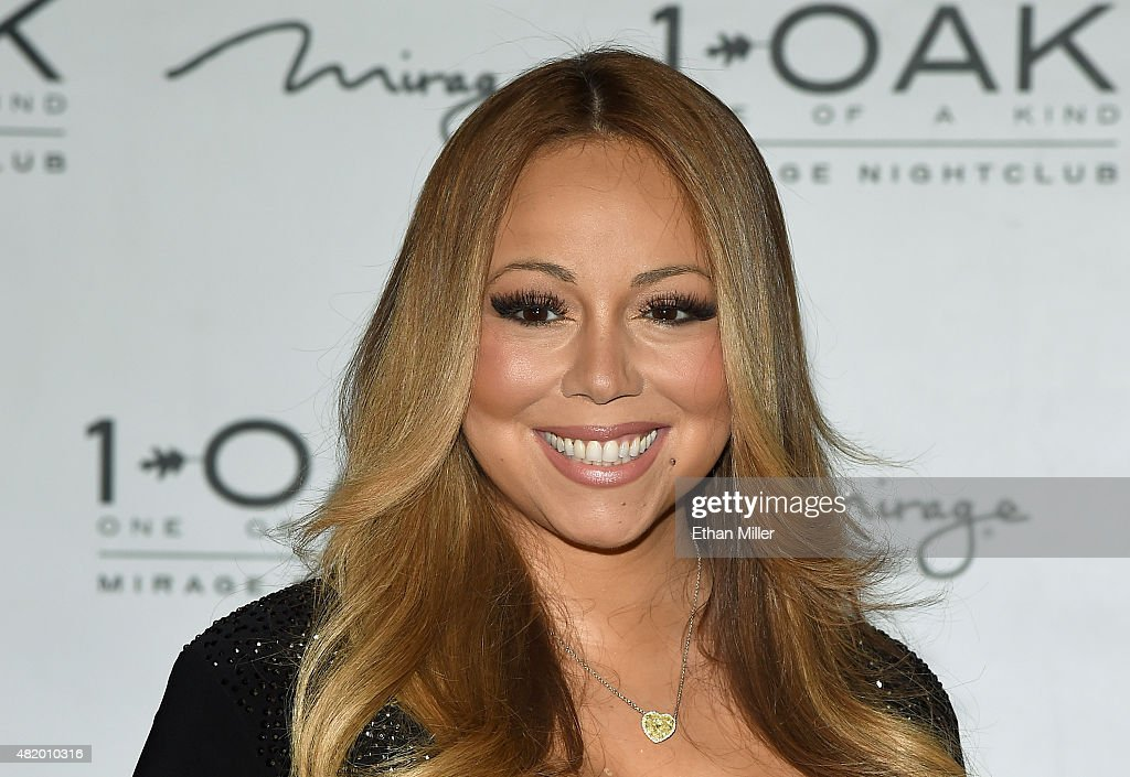 Mariah Carey At 1 OAK Nightclub At The Mirage : News Photo