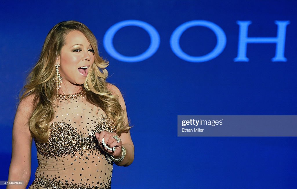 "Mariah Carey Welcome Event For Her Las Vegas Residency ""MARIAH #1 TO INFINITY"" : News Photo"