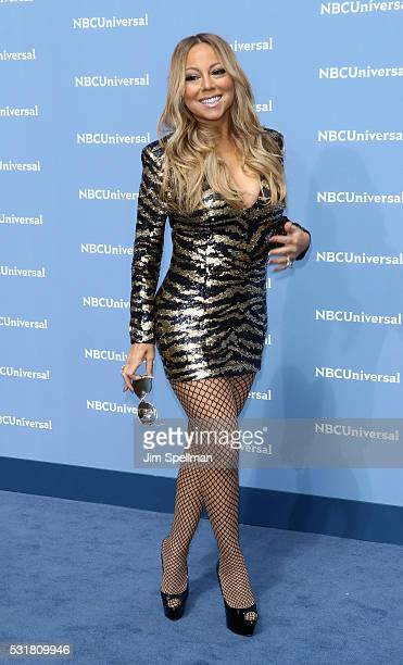 Singer/songwriter Mariah Carey attends the 2016 NBCUNIVERSAL Upfront at Radio City Music Hall on May 16 2016 in New York City