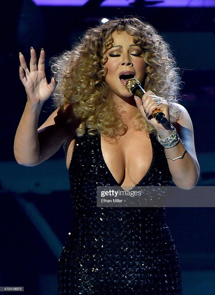 Mariah Carey Launches 'MARIAH #1 TO INFINITY' At Caesars Palace In Las Vegas : News Photo