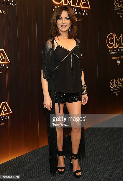 Singersongwriter Martina McBride attends a preshow press conference during day 3 of the 2016 CMA Festival on June 11 2016 in Nashville Tennessee