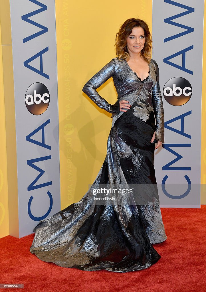 Singer-songwriter Martina McBride attends the 50th annual CMA Awards at the Bridgestone Arena on November 2, 2016 in Nashville, Tennessee.