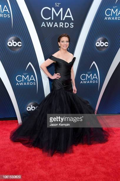 Singersongwriter Martina McBride attends the 52nd annual CMA Awards at the Bridgestone Arena on November 14 2018 in Nashville Tennessee
