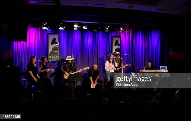 Singer/songwriter Martina McBride performs at The Drop Martina McBride at The GRAMMY Museum on April 10 2014 in Los Angeles California