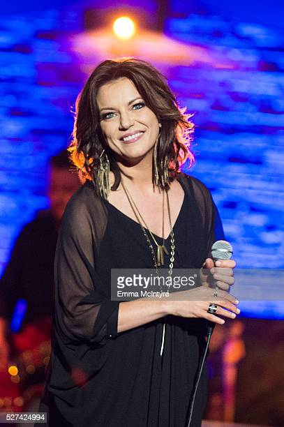 Singer/songwriter Martina McBride performs onstage for ATT Audience Network at Red Studios on May 2 2016 in Los Angeles California