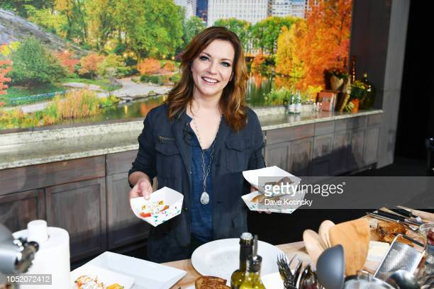 Singersongwriter Martina McBride poses onstage during Food Network Cooking Channel New York City Wine Food Festival Presented by Capital One Grand...