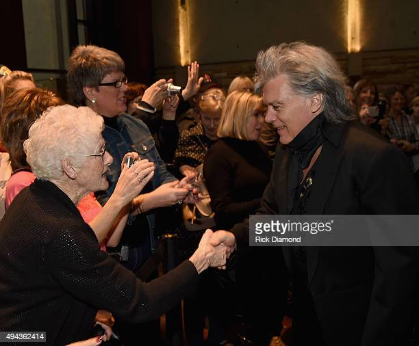 Singer/Songwriter Marty Stuart attends The Country Music Hall of Fame 2015 Medallion Ceremony at the Country Music Hall of Fame and Museum on October...