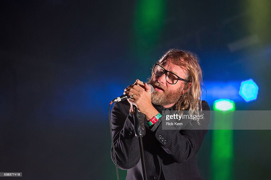 Singer-songwriter Matt Berninger of The National performs onstage during day two of Free Press Summer Festival on June 5, 2016 in Houston, Texas.